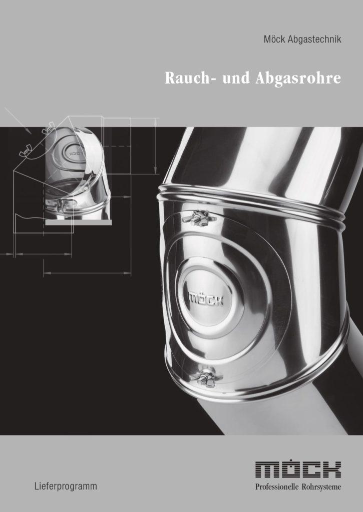 Lieferprogramm Rauchrohre und Abgasrohre (Deutsch, 2019)