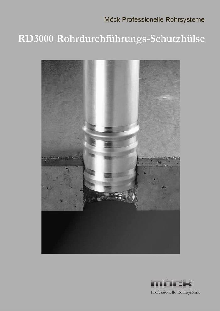 Lieferprogramm RD3000 Rohrdurchführungs-Schutzhülse (Deutsch, 2006)