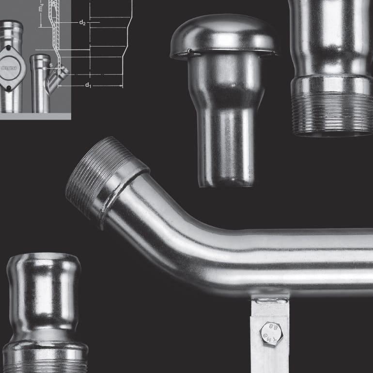 Befüll- und Entlüftungsleitungen - Möck Professionelle Rohrsysteme