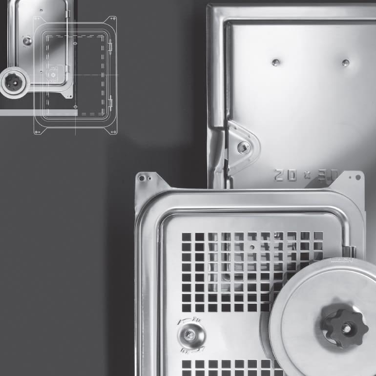 Kamintüren und Lüftungstüren - Möck Professionelle Rohrsysteme