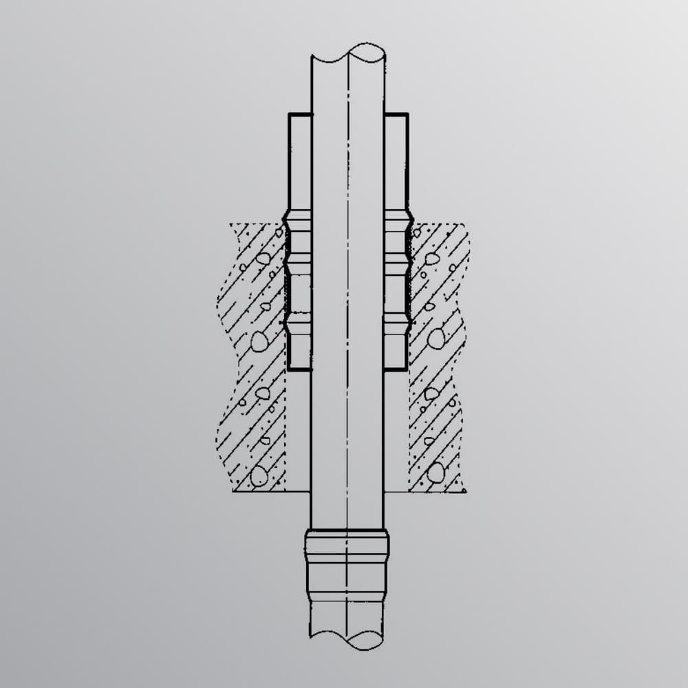 RD3000-Medieführendes Rohr